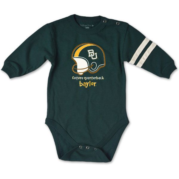 Product: Baylor University Infant JV Football Bodysuit