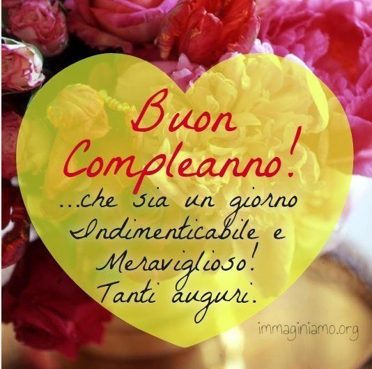 frasi buon compleanno | Birthday Greetings | Pinterest | Happy