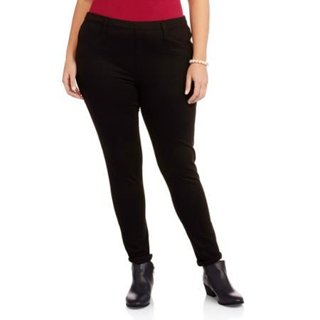 Faded Glory Women's Plus-Size Knit Color Jeggings - Faded Glory Women's Plus-Size Knit Color Jeggings My Style