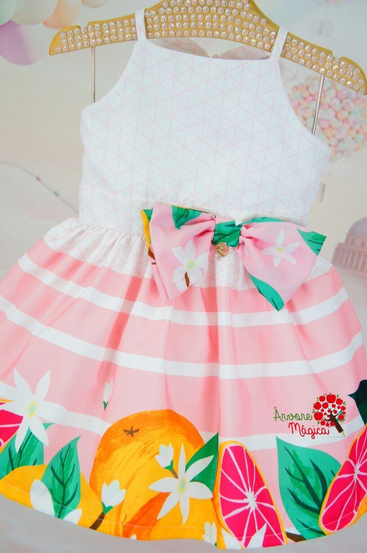 cb9bb8b159 Vestido Infantil Flora Mon Sucré