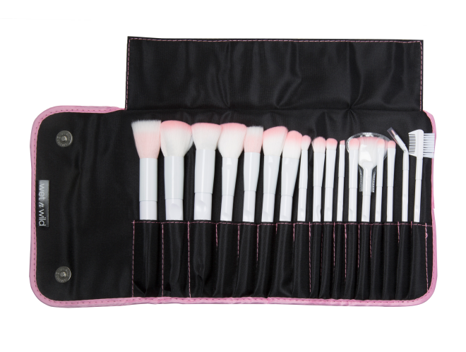 Brush Roll 17 Piece Collection Wet N Wild Brushes Brush Roll
