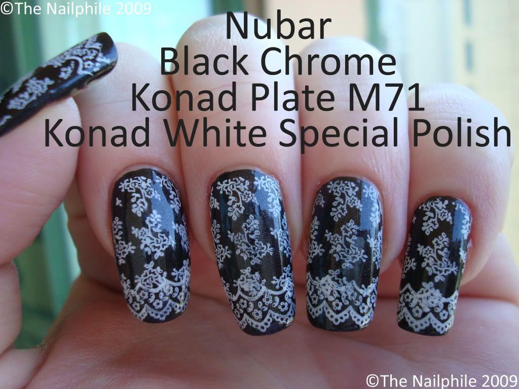 Konad plate m nail polish obsession pinterest hair dos and