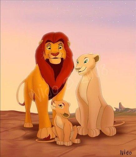 Family The Lion King Nala Photo Disney Pinterest Felin Noms