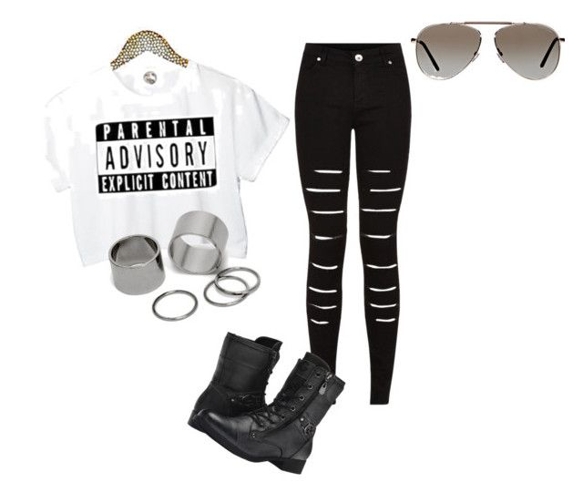 """""""Good"""" by torn147 on Polyvore featuring Pieces, G by Guess and Tom Ford"""