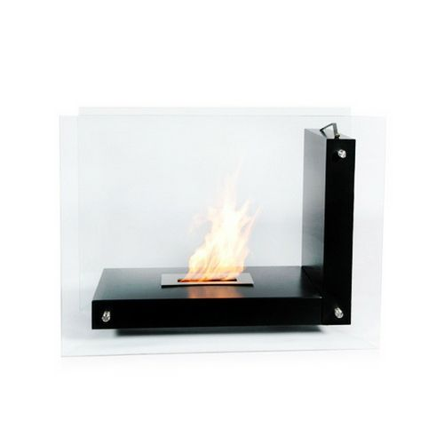 The Bio Flame Allure 47 Free Standing Ethanol Fireplace