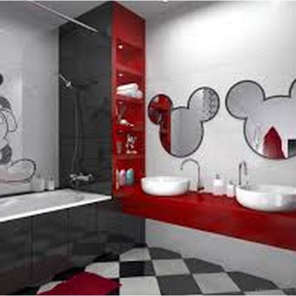 17+ Creative Ways You Can Improve Your Mickey Mouse Bathroom (avec