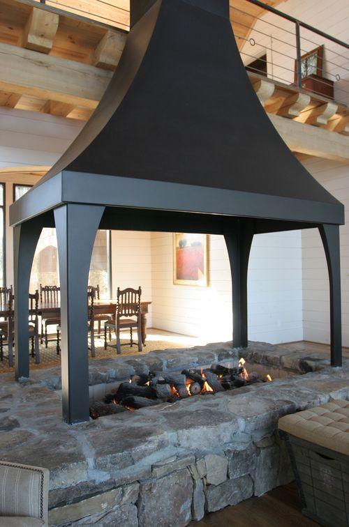 Inside Pit But Still A Fireplace Fireplace In 2019 Fire
