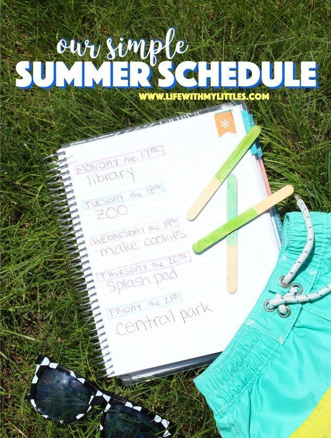Our Simple Summer Schedule #summerschedule Our Simple Summer Schedule - Life With My Littles #summerschedule Our Simple Summer Schedule #summerschedule Our Simple Summer Schedule - Life With My Littles #summerschedule