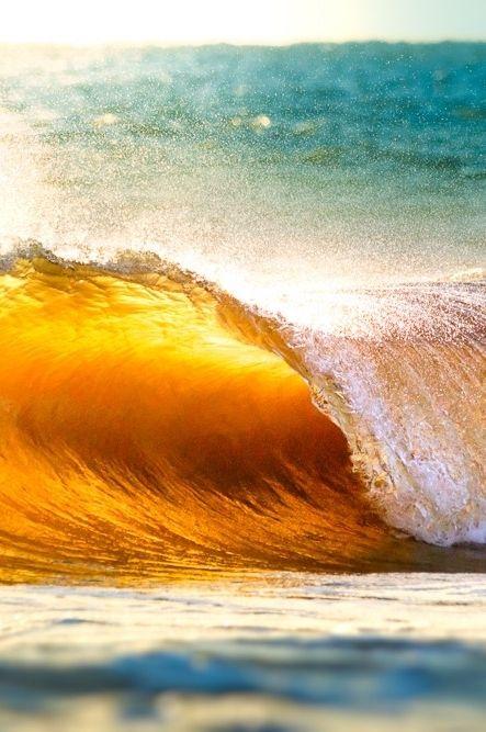 -0ce4n g0d: [7348] Puesta de sol, olas y el océano por Ojo Torpe