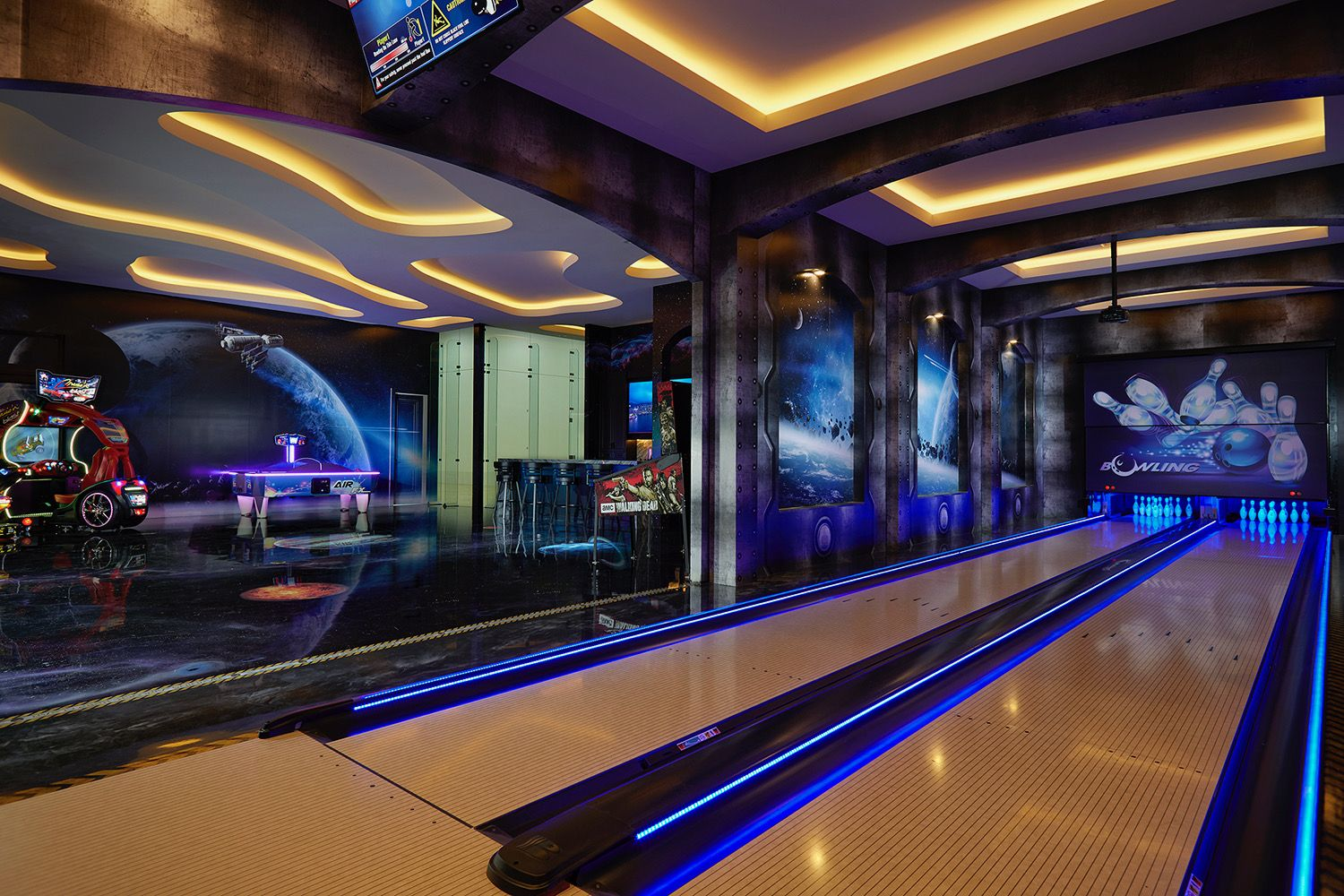 Gaming is a billion dollar industry, but you don't have to spend a penny to play some of the best games online. Custom residential game room with 2 lane bowling alley ...