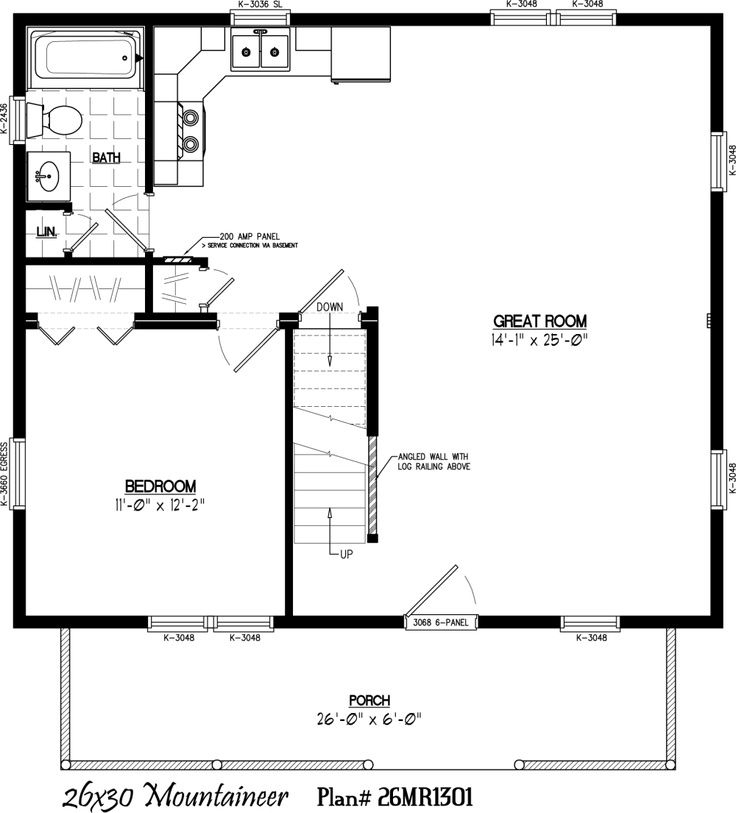 image result for 30x30 house plans with loft small