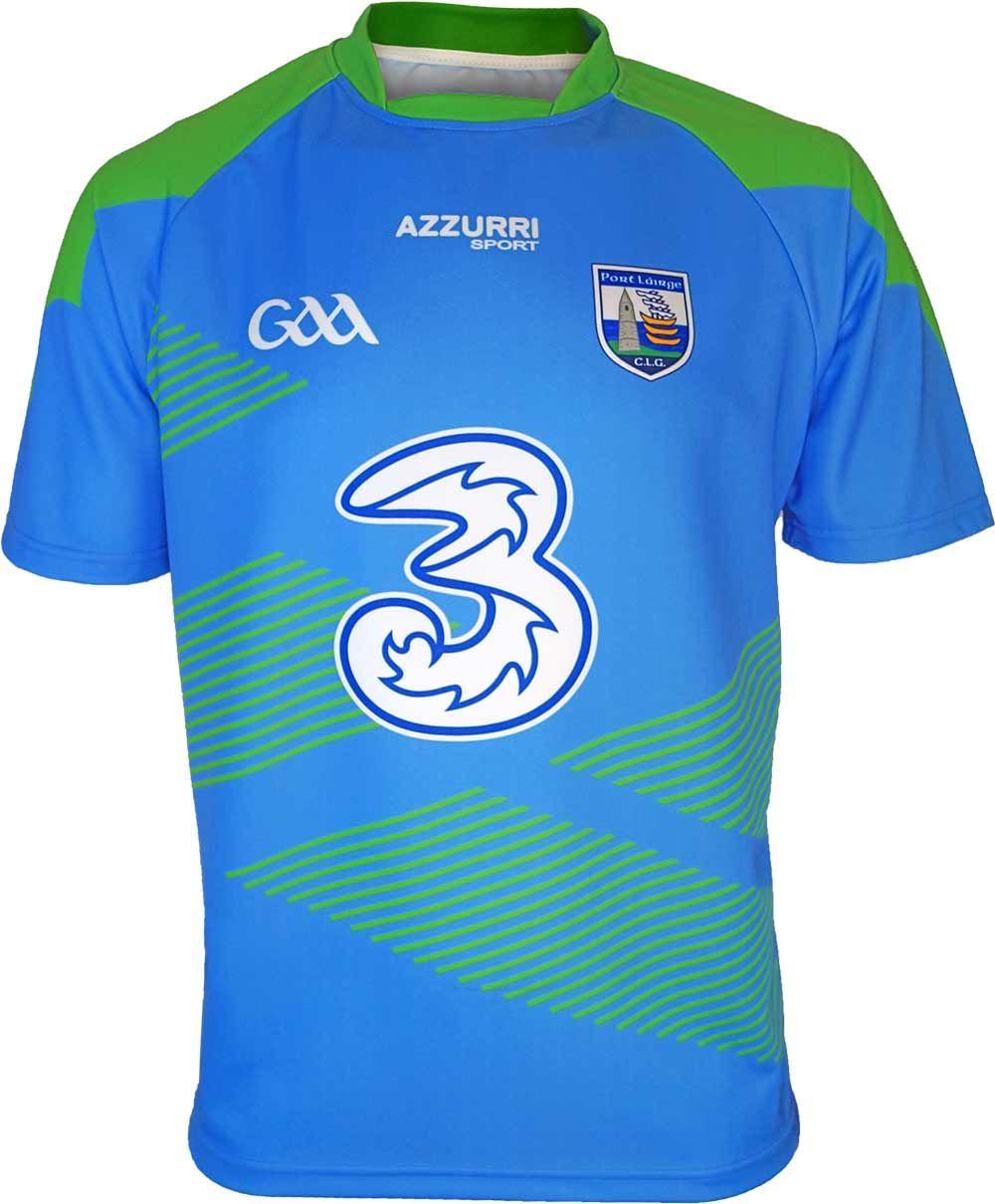 Azzurri Sport Waterford GAA Ladies Jersey Mens tops