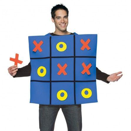 Tic Tac Toe Game Costume