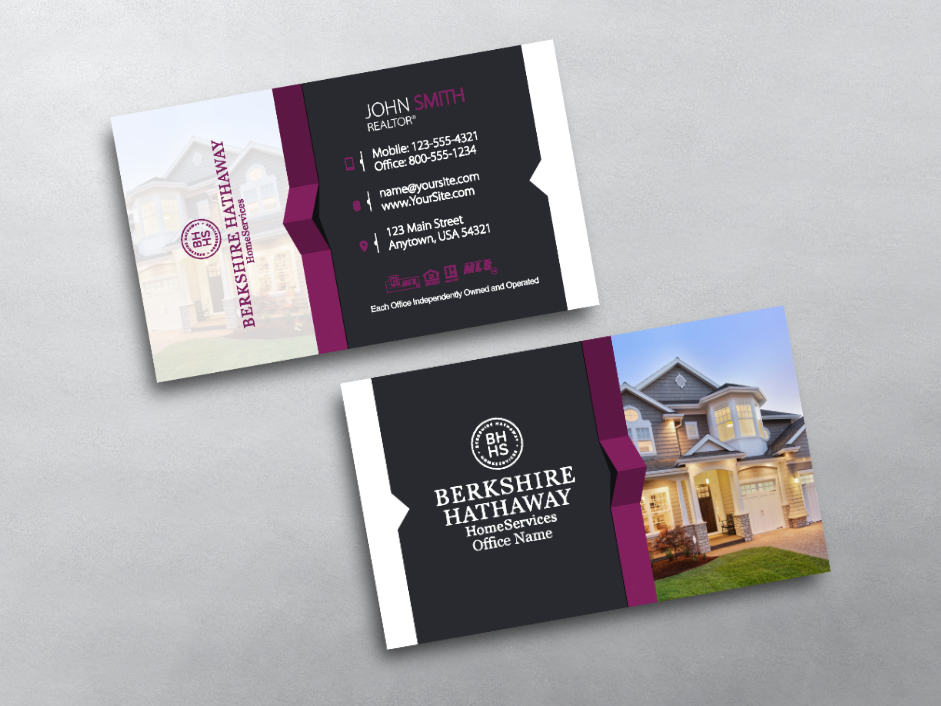 Order Berkshire Hathaway Business Cards Free Shipping Design Templates Berkshire Hathaway Business Car Business Cards Free Business Cards Template Design