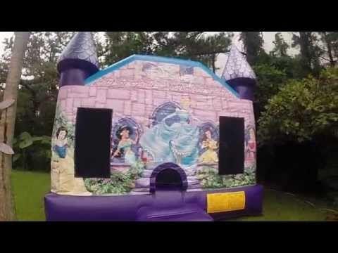 Disney Princess S Castle Bounce House Jacksonville Florida Castle Bounce House Disney Princess Castle Bounce House