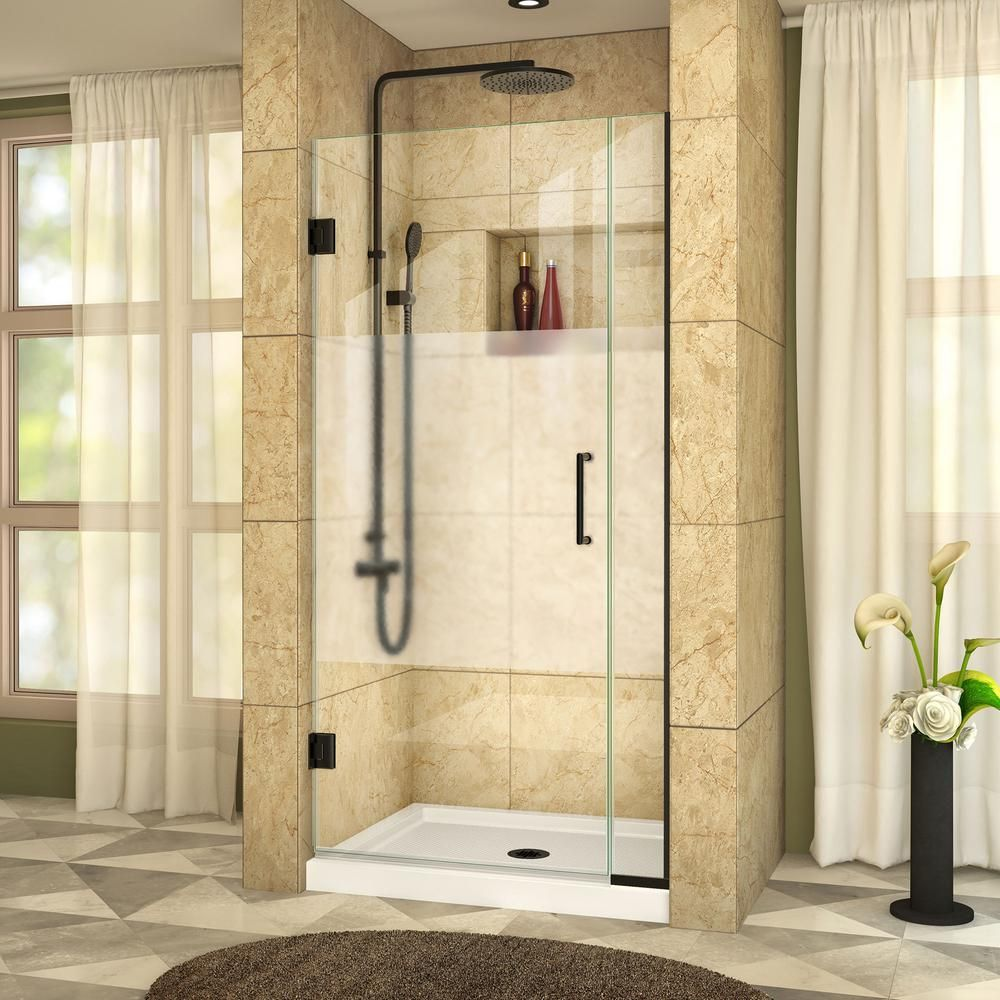 Dreamline Unidoor Plus 30 In X 72 In Frameless Hinged Shower