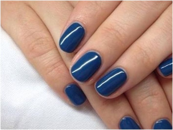 Gel Polish Blue Rapture Cnd Shellac Forbidden
