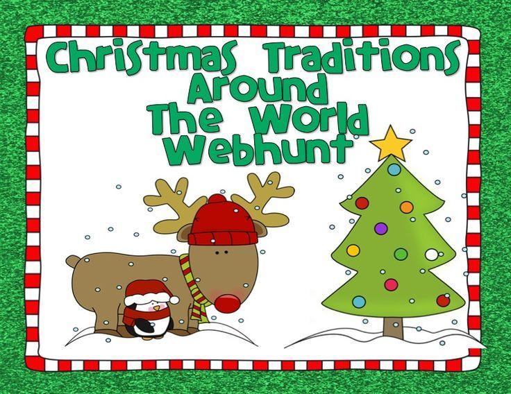 FREE Christmas Traditions Around the World Webhunt ...