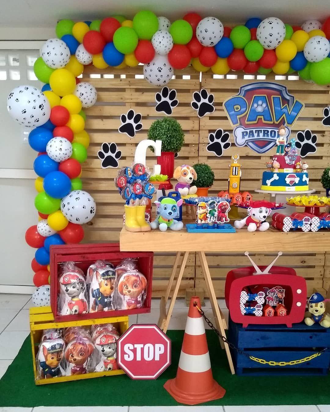 Patrulha Canina Festa Infantil Busqueda De Google Decoracao
