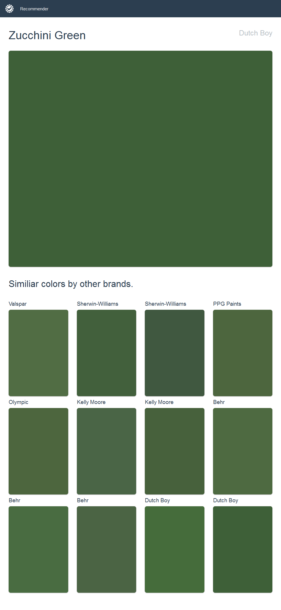Paint Colors That Go With Green