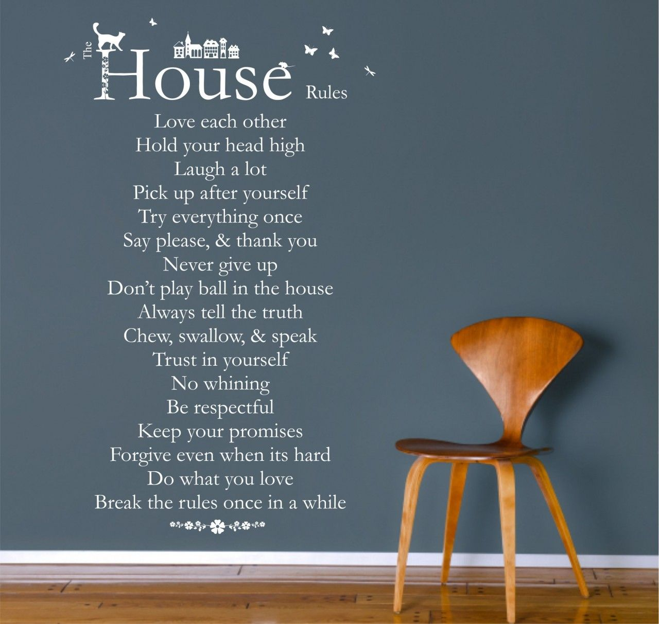 Image Déco Maison Pinterest Rules Quotes House Rules - House rules wall decals