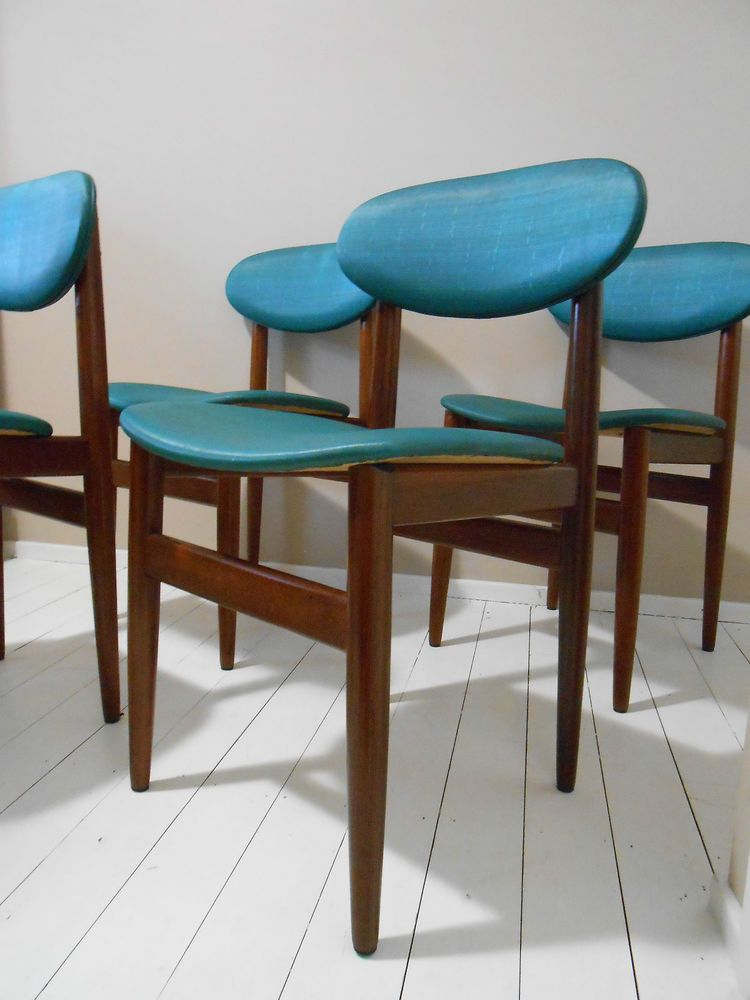 Elite Dining Room Furniture Retro Parker Eames Era Elite Danish Style Dining Chairs Mid