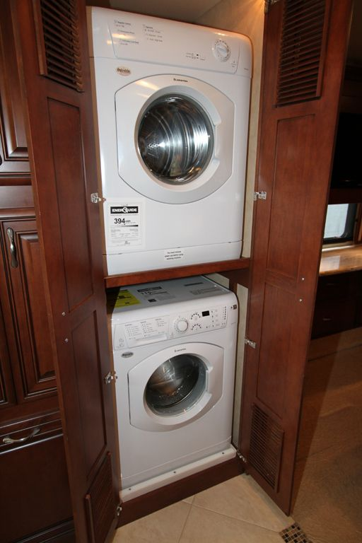 Small pantry with washer and dryer stackable washer and for Tiny house stackable washer dryer