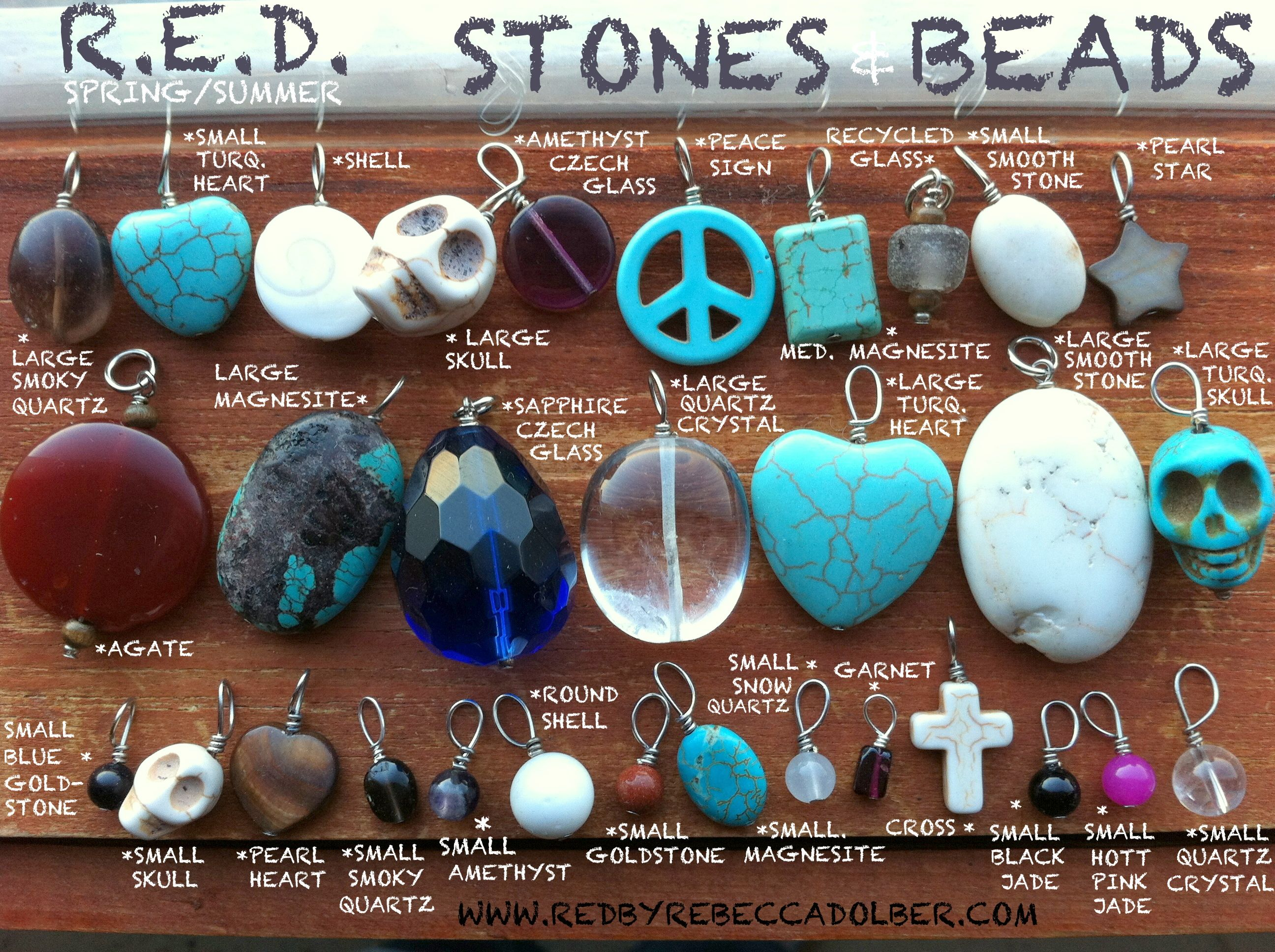 Stones and Beads - R.E.D.