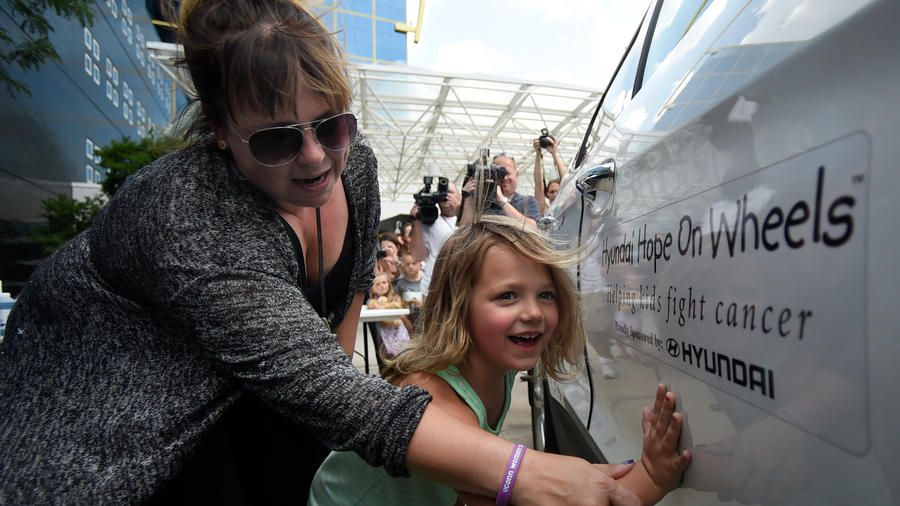Connecticut Children's Celebrates 50,000 Hyundai Award