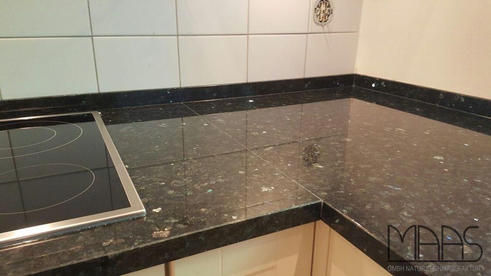 Diese L-Küche in Hamburg hat eine neue Arbeitsplatte bekommen Sie - arbeitsplatten granit küche