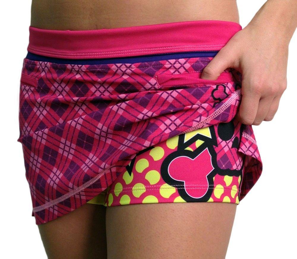 Womens Britney Sports Skirt Front Shorts | Good Running