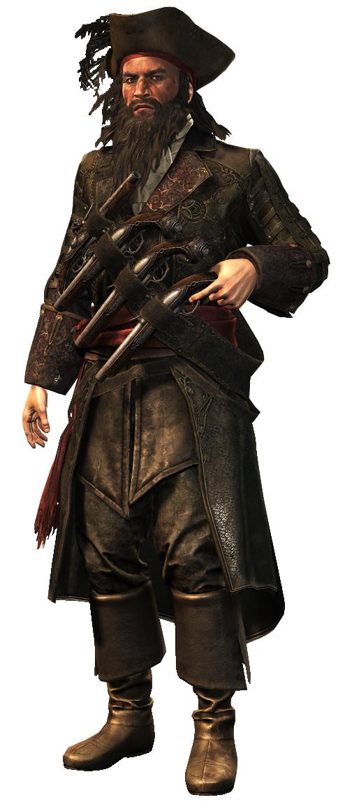 Edward Thatch Pirates Assassins Creed Black Flag Blackbeard