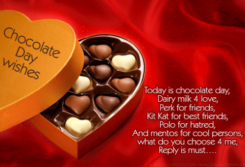 Chocolate Day Wishes For Boyfriend Love Forever Chocolate Day