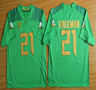release date: 9c1e7 33102 Oregon Duck Jersey 21 Royce Freeman Light Green College ...