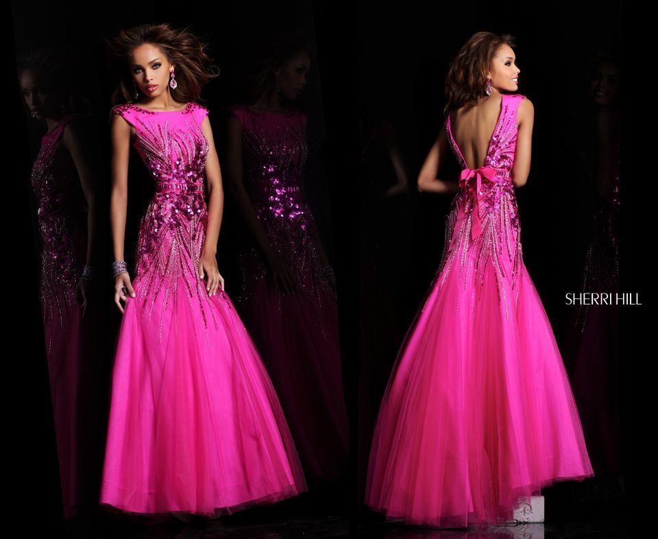 Pretty pink formal dress | *Dancin\'* | Pinterest