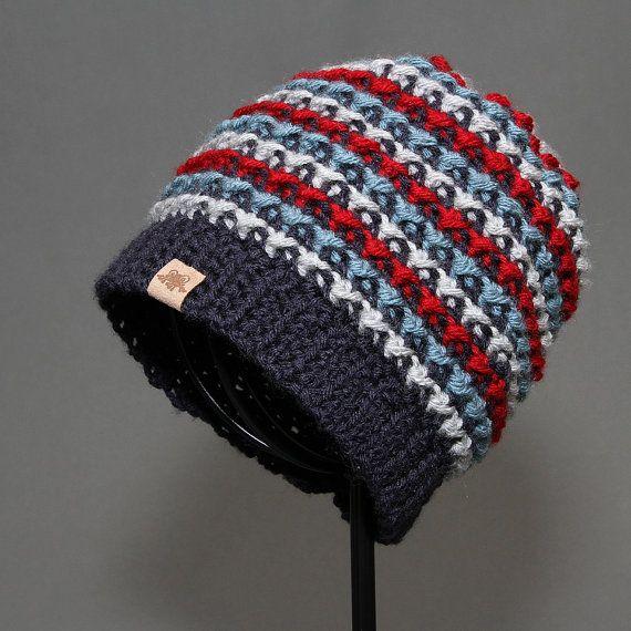 Crochet Beanie Hat PATTERN Brookside Beanie Crochet Hat Pattern ...