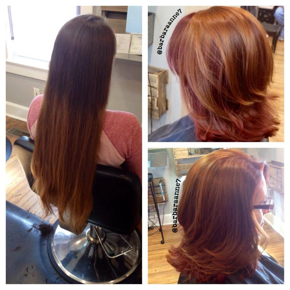 Red Copper Hair Kenra Color Locks Of Love Haircut Layers