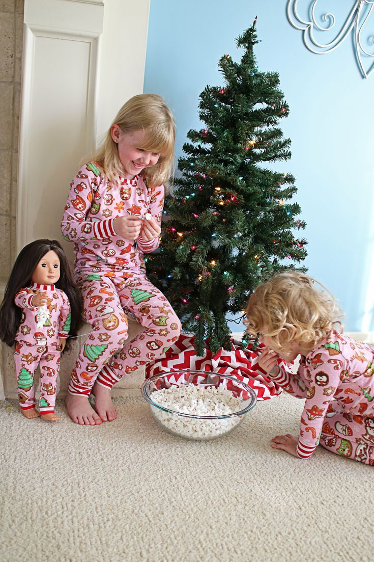 Dolly & Me Matching Pajama Sets in 2020 Christmas