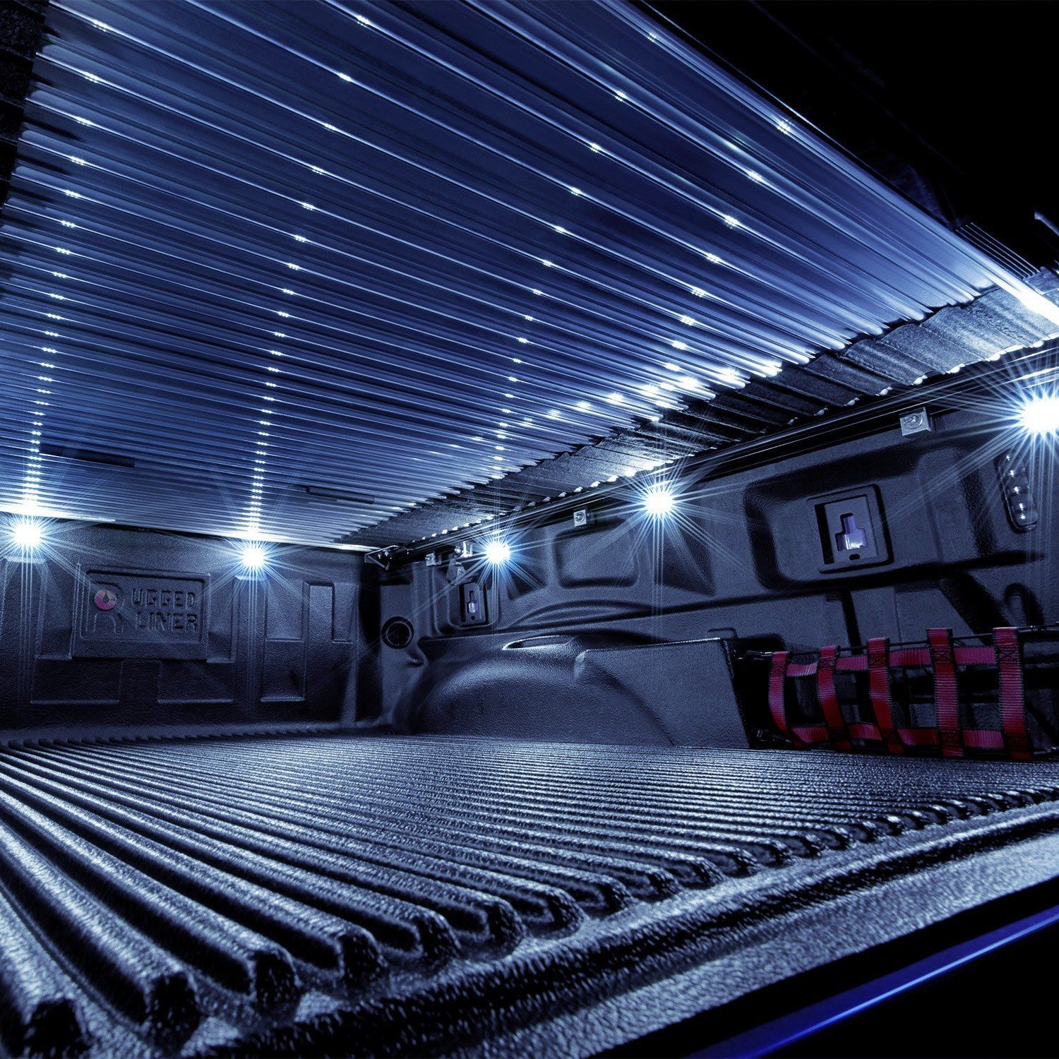 Lumen 8 Pod Led Truck Bed Lights With Images Truck Bed