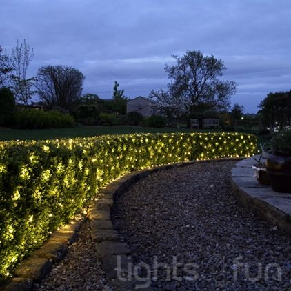 Outdoor Solar Net Lights Fairy light netting fairy lights pinterest outdoor fairy id love this in the hedge outside my door probably solar as i couldnt handle the cords workwithnaturefo