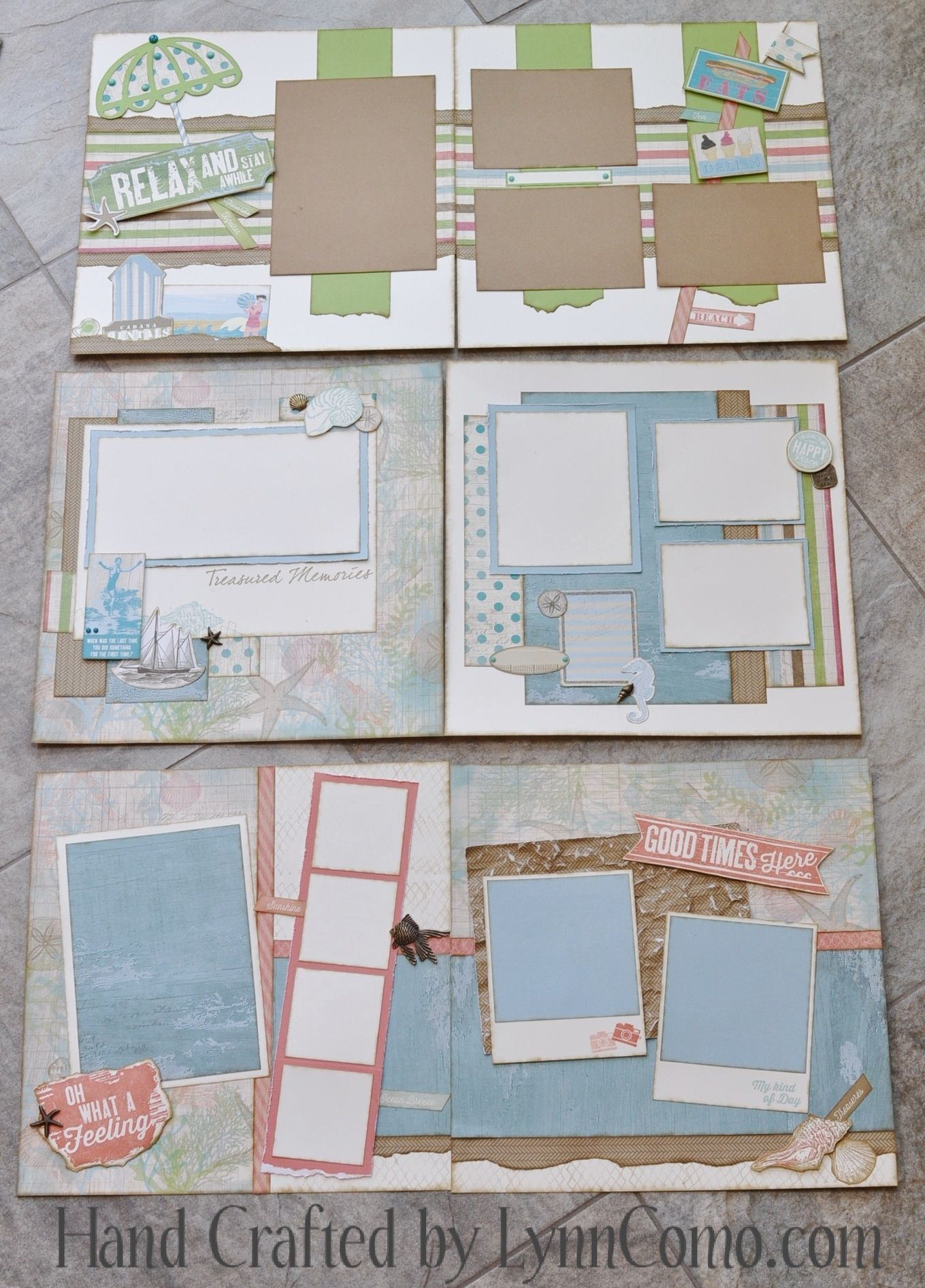 Seaside Kit of the Month ... fantastic new paper, stamps, accessories for your beach of vacation theme!  Read all about it here:  http://lynncomo.com/4474/seaside-kit-of-the-month-monthly-rewards-club/
