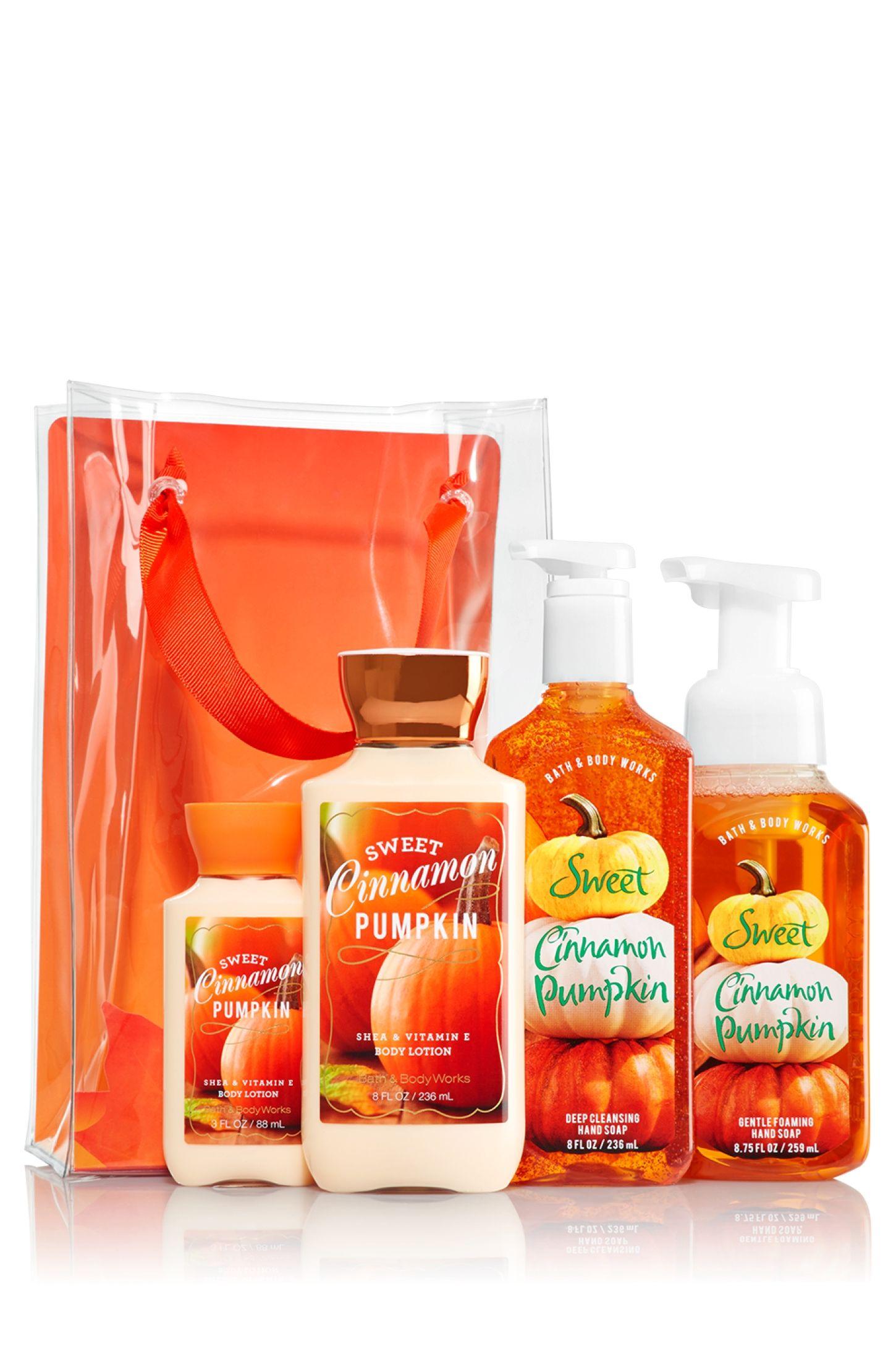 Sweet Cinnamon Pumpkin It S In The Bag Gift Set Signature
