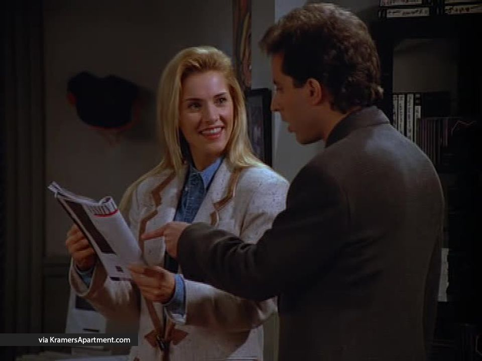 Tia from Seinfeld. One of Jerry's girlfriends. Rate them ...