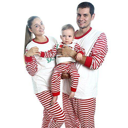 Fenta Christmas Pajamas Family Xmas Outfits Parent-Child 2PCS