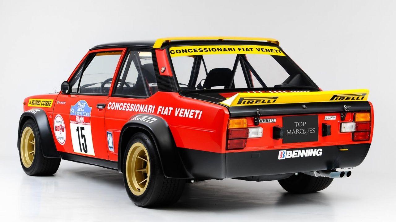 1977 Fiat 131 Abarth Gr 4 Classic Driver Market Auto Auto