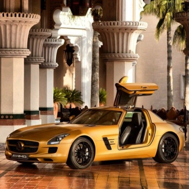 One Of The Perks Of Being Wealthy- Brilliant Golden