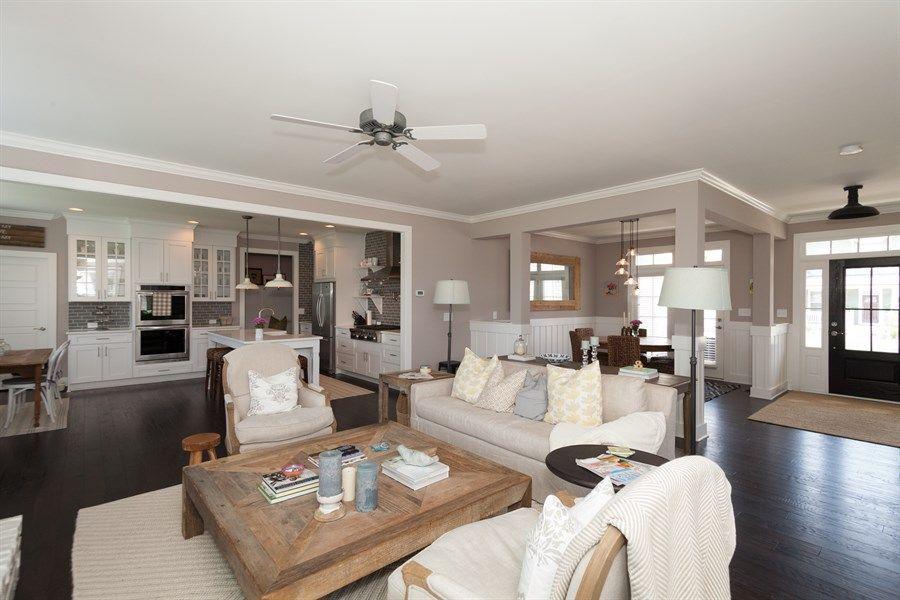 open floor plan farmhouse - Google Search | Home - the Kitchen ...