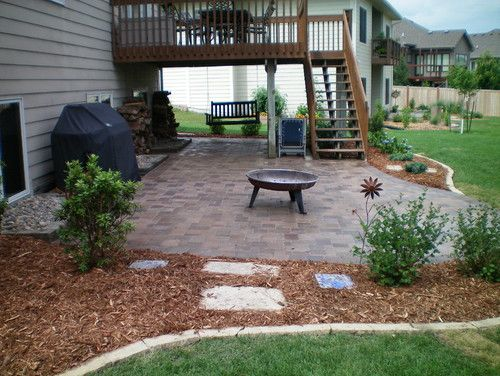 Landscape walkout basement design pictures remodel for Walkout basement patio ideas