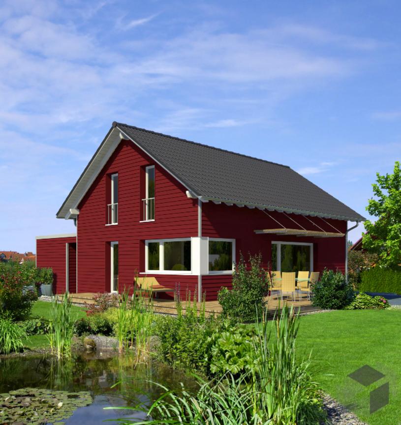 Schwedenhaus Klein und Fein von Baufritz 121 m²