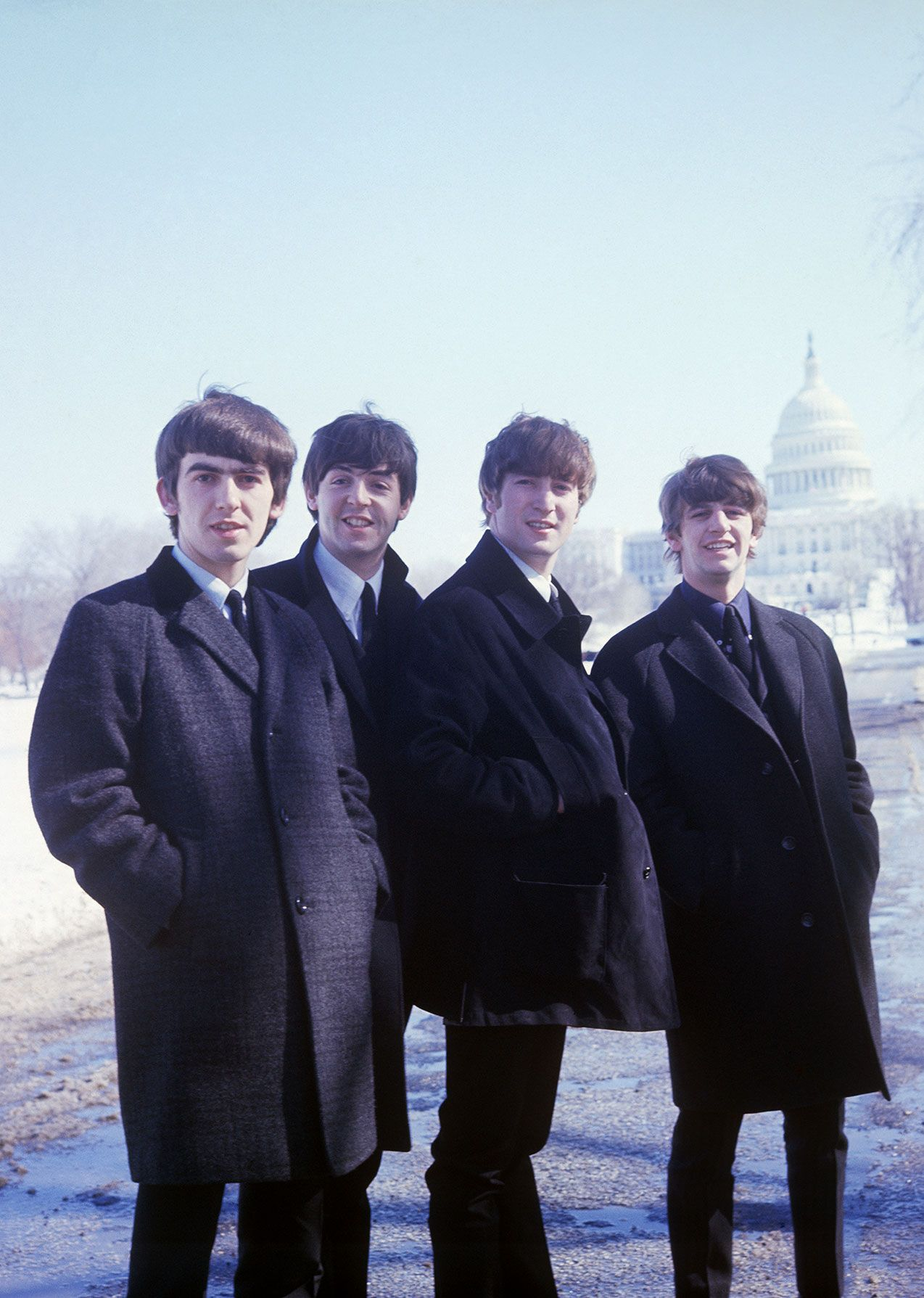 Na He Ya Ho The Beatles In Washington DC February 1964